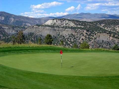 Fazio 5th Green at Red Sky Ranch