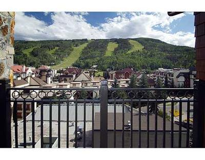 This Landmark Vail in Lionshead condo has amazing views and sold in June for $2,520,000
