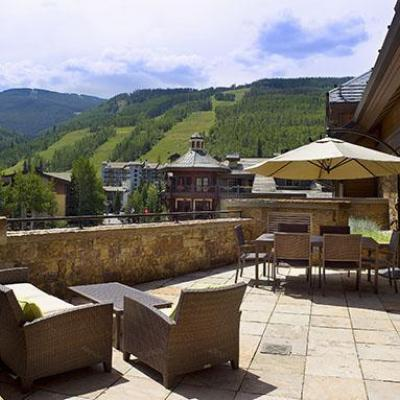 View from Solaris Residence in Vail