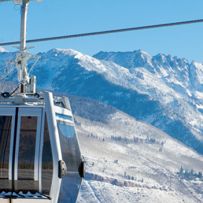 "The ""One"" Ski Gondola, Vail"