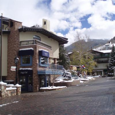 Gateway's Vail Village Location with Vail Mountain in the Background